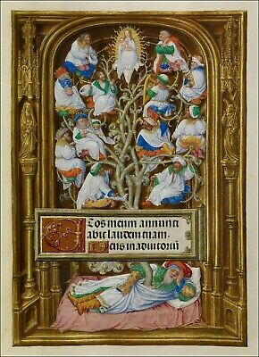 Spinola Book of Hours Manuscript Collection of Seven illuminations. NEW