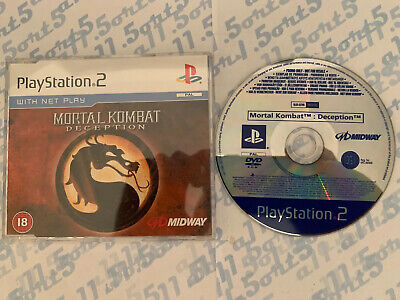 Mortal Kombat: Deception -Promo - Full Game - Sony Ps2 - Playstation 2 - UK PAL