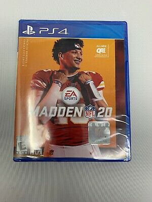 Madden NFL 20 PS4 [Brand New] EA Sports NFLPA E For Everyone ESRB