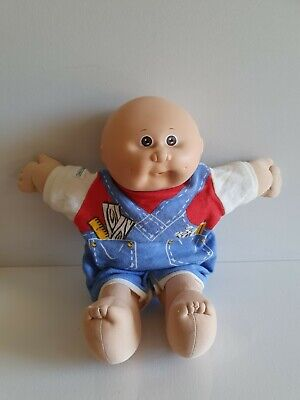 """1982 Cabbage Patch Kid  Approx 13"""" - Open Mouth, Bald, Dimples. Appalachian"""