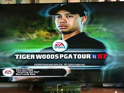 Xbox debug kit Tiger Woods PGA Tour 07 Playable Games  Console collectable