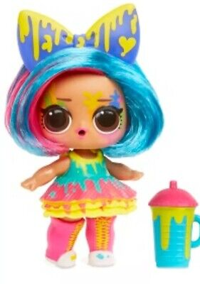 Lol surprise doll SPLATTERS lol hairgoals color changer AUTHENTIC from USA