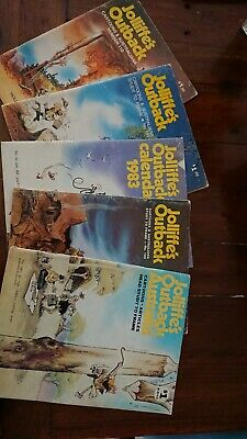 Vintage jolliffe's outback Calendar And Comic Lot Australiana