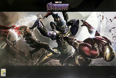 SD Comic-Con 2019 Marvel AVENGERS Endgame Limited Exclusive POSTER
