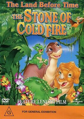 The Land Before Time - The Stone of Cold Fire  (1 DVD) - Like New - Region 4