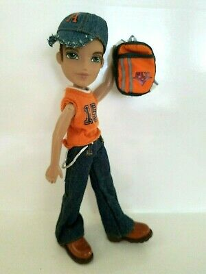 Bratz DYLAN Boy Doll Baseball Outfit FIRST DYLAN EVER MADE! OOAK Very Good