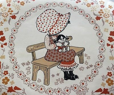 Retro Vintage Kitchenware Tableware Holly Hobbie Girl Table Placemat #142