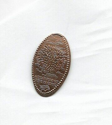 Aquarium of The Pacific One Cent Elongated Penny Coin Token