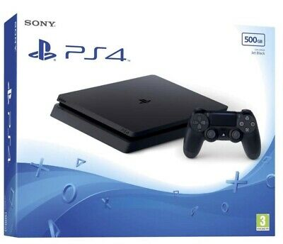 Console Sony Ps4 Playstation 4 500Gb Slim  Chassis F