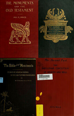 204 Books Ancient Mesopotamia Sumerians Chaldea Babylonia Assyria - Vol.2 On Dvd