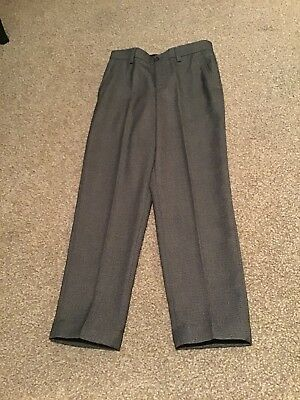 Debenhams 'Outfit' Boys' Smart Grey Trousers, Age 9. Worn Once!