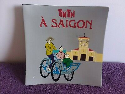 Tintin A Saigon Wall Hanger or Plate Used