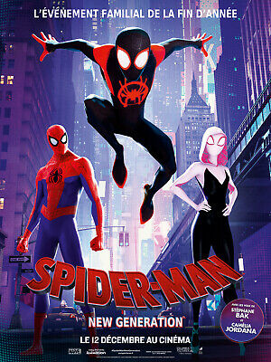 Spider-Man New Generation (Bluray 2019 Neuf Sous Blister)