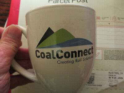 Queensland Railways - QR Coal rail network mug