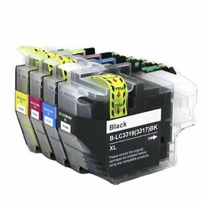 1 x LC3319XL LC-3317 ink cartridges BK+C+M+Y for Brother J6930 5330