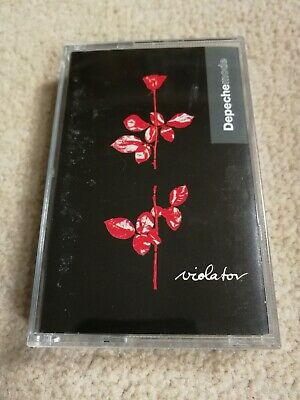 Depeche Mode - Violator (paper label) - tape cassette album