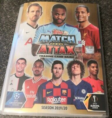 Match Attax 2019/20 ** Complete Set In Binder ** With Extras & 10 Le Cards