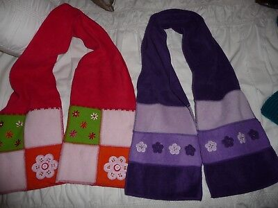 2 girls scarves for winter Esprit and target