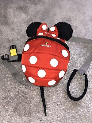 LittleLife Minnie Mouse Backpack Reins