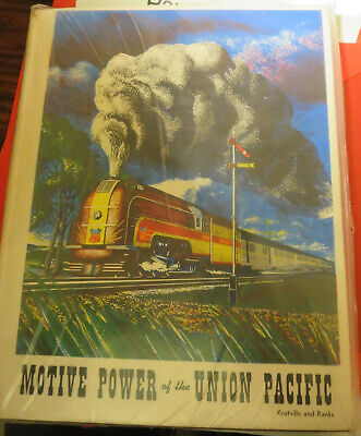 Motive Power of the Union Pacific by Kratville & Ranks - US Railways