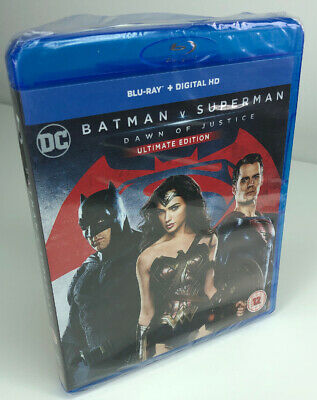 Batman V Superman - Dawn of Justice: Ultimate Edition - New & Sealed Bluray