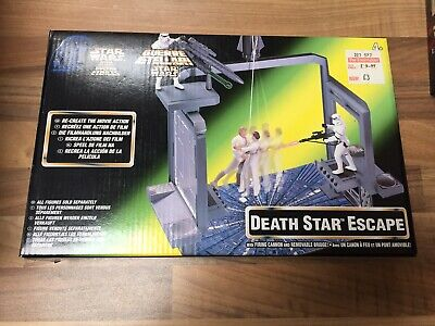 Star Wars Power of the Force Death Star Escape Play Set Mint in Box