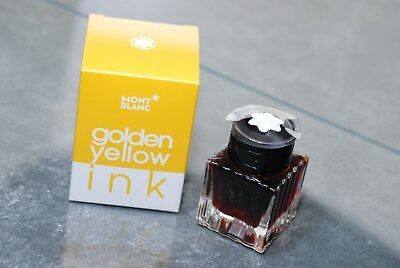 Ink Montblanc Golden Yellow Tintenfass, 30 ML (Yellow)
