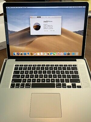 """Apple MacBook Pro A1398 i7-4980HQ 2.80GHZ 16GB 1TB SSD 15"""" With extra Cables"""