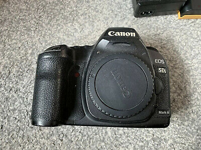 Canon 2764B007 EOS 5D Mark II 21.1MP Digital SLR Camera  Body Only - Black