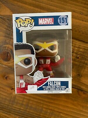Funko Pop! Marvel Classic Falcon  #151 Vaulted Vinyl Figure