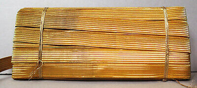 29  Mtrs OF ANTIQUE MILITARY BRAID GOLD 15 MM WIDE