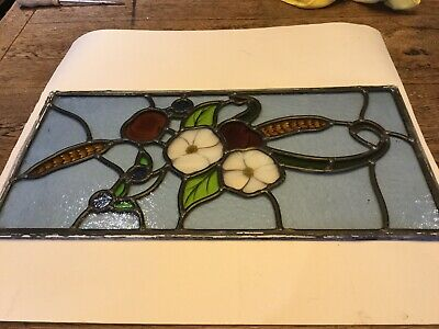 leaded antique stained glass
