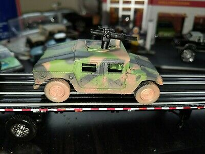 1992-06 Hummer H1 Humvee Military Police Rare 1:64 Scale Diecast Truck Weathered