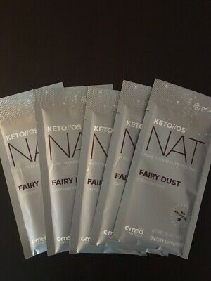 Pruvit Keto Os Nat  Fairy Dust-Caffeine Free 5 Packets