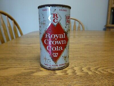 Royal Crown RC Cola, Easy Open Pull Top, 12 oz Can