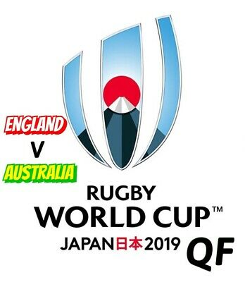 England v Australia  Rugby World Cup Quarter Final - 19 October 2019 Brand New.