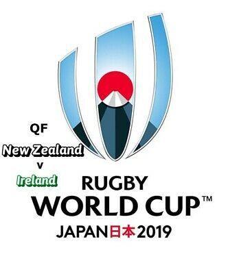 New Zealand v Ireland - Rugby World Cup QF  2019 Official Match PROGRAMME