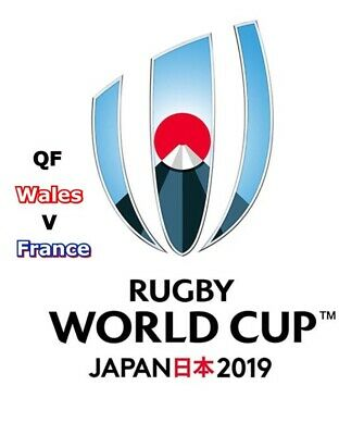 Wales v France - Rugby World Cup 2019 QF Official Match Programme.