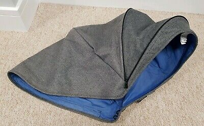 Bugaboo Cameleon 3 Grey Tweed blend hood/sun canopy great condition 001