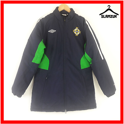 Umbro Northern Ireland Football Training Anthem Jacket M Medium Blue Soccer Coat