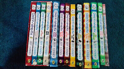 Diary of a Wimpy Kid Books Set of 13