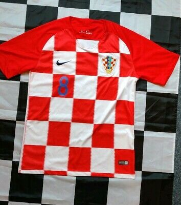 Croatia 2018 Football World Cup Home Kit Large (Kovacic 8)