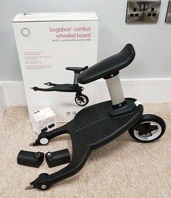 Bugaboo comfort plus 2017 wheeled buggy/stroller board with seat. No adapter 001