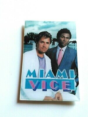 "Calamita Da Frigo Fridge Magnet Serie Tv "" Miami Vice"""