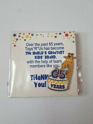 Toys R Us//Babies R Us RARE Collectible Pin Brand New In Plastic playing to win!