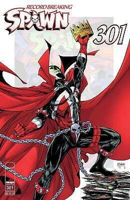 Spawn #301 FC 52 pgs - Variant Covers