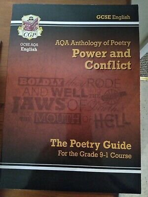 GCSE English Literature AQA Poetry Guide: Power & Conflict Anthology Grade 9-1