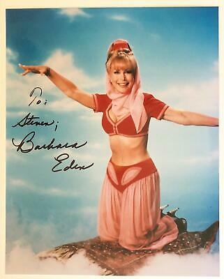 BARBARA EDEN I DREAM OF JEANNIE AUTOGRAPHED *  HAND SIGNED 8 x 10 PHOTO