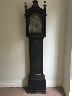 Antique beautiful William Dunant longcase grandfather clock (believed 1760s)