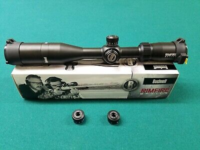 BUSHNELL Rimfire Optics 3-12x40 Side Focus Rifle Scope with 3 BDC Turrets 633124